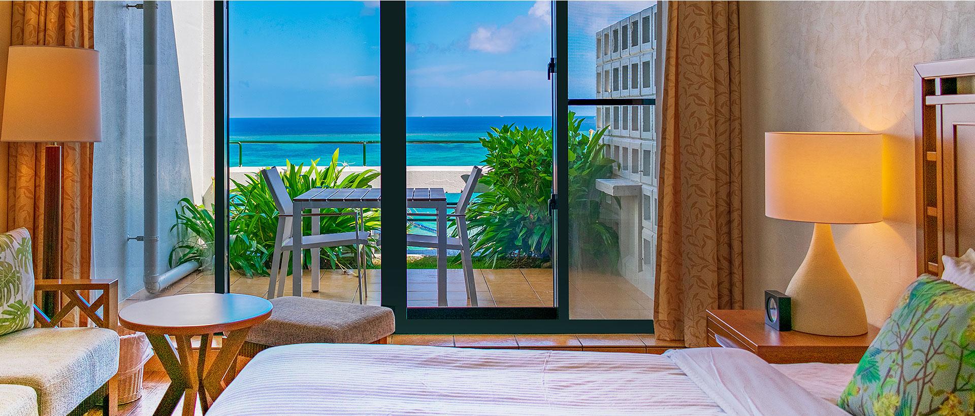 ホテルムーンビーチの客室イメージ